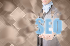 Concept of seo Stock Image