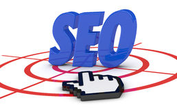 Concept of seo Stock Photography