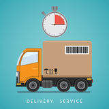 Concept of the shipping service. Royalty Free Stock Photography