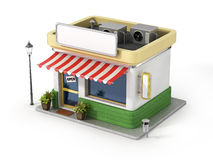 Concept of shop. stock illustration