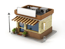 Concept of shop. Stock Photography