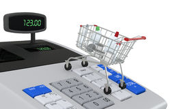 Concept of shopping Stock Photography