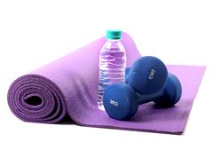 Fit life. Concept shot showing items for fit life royalty free stock photos