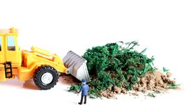 Waste cleaning Stock Images