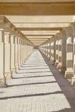 Krishna Temple Footpath Shapes Royalty Free Stock Image