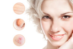 Concept of skincare Stock Image