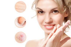 Concept of skincare Stock Photography