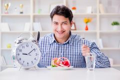 The concept of slow service in the restaurant. Concept of slow service in the restaurant Royalty Free Stock Images