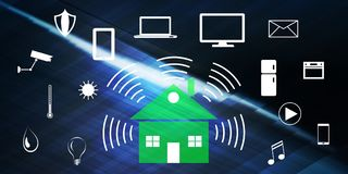 Concept of smart home vector illustration