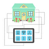 Concept of smart house Stock Photo