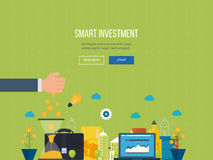 Concept for smart investment, finance, banking, strategic management Stock Photography