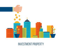 Concept for smart investment, finance, banking, strategic management,. Property investment. Investment business. Investment management. Financial strategy Stock Photo