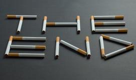 Concept smoking Stock Image