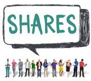 Concept social de mise en réseau de media de l'information d'actions photo libre de droits