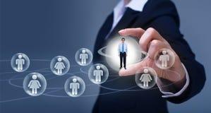 Concept social de mise en réseau