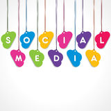 Concept social de réseau illustration libre de droits