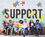 Concept social de soin de charité d'aide de soutien Images stock