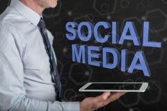 Concept of social media Royalty Free Stock Photos