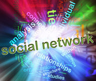 Concept of Social Network Royalty Free Stock Images