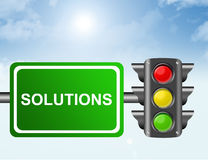 Concept Solutions Stock Image