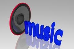 Concept sound Stock Image