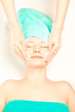 Concept of spa procedures Royalty Free Stock Photography