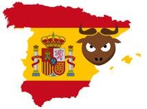 Concept Spanje Royalty-vrije Stock Fotografie