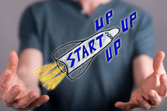 Concept of start up Stock Image