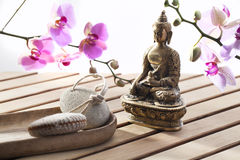 Concept of stillness and inner peace Royalty Free Stock Photography