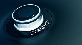 Concept of strategy Stock Photos