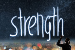 Concept of strength Stock Photography