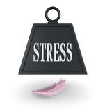 Concept of stress Royalty Free Stock Image