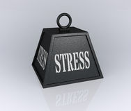 Concept of stress Stock Photos