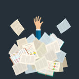Concept of studying. Royalty Free Stock Photo