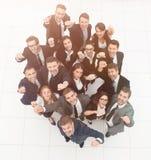 Concept succes talrijk zegevierend commercieel team royalty-vrije stock fotografie