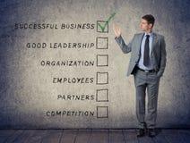 Concept success business Stock Photos
