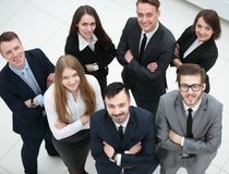 Portrait of a professional business team Royalty Free Stock Photo
