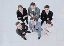 Concept of success in business:successful business team is stand Stock Photography