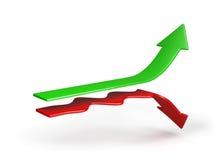 Concept of success Stock Photos