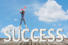 Concept of success Royalty Free Stock Images
