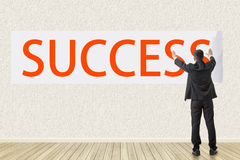 Concept of success Stock Image