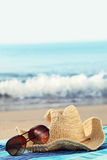 Concept of summer holidays by seaside Royalty Free Stock Photography