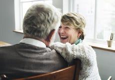 Concept supérieur d'épouse de mari de couples de retraite Photos libres de droits