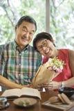 Concept supérieur d'amour de couples de personnes Image libre de droits