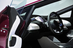 Concept Super Sport Car Interior Royalty Free Stock Image