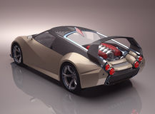 Concept Supercar Photos stock