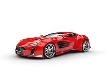 Concept supercar - studio shot Royalty Free Stock Photos