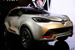 Concept SUV, CS de MG, sur CDMS 2013 Photographie stock libre de droits