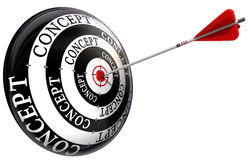 Concept target Stock Photo