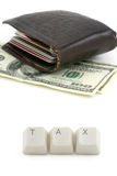 Concept of tax Stock Photo